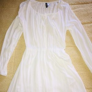 Casual White Dress!